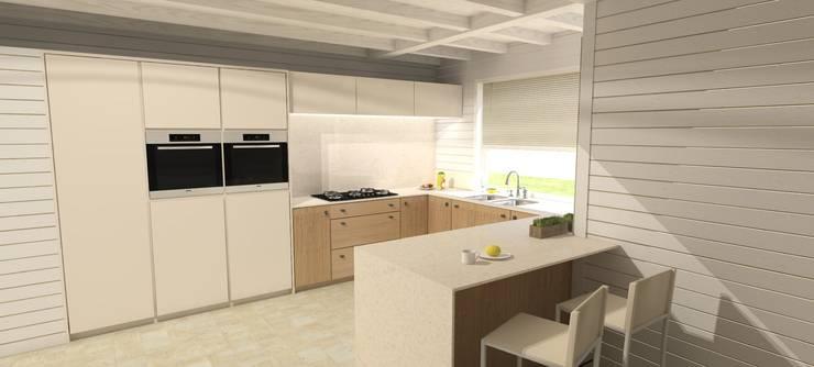 Keuken:   door AD MORE design, Scandinavisch Hout Hout