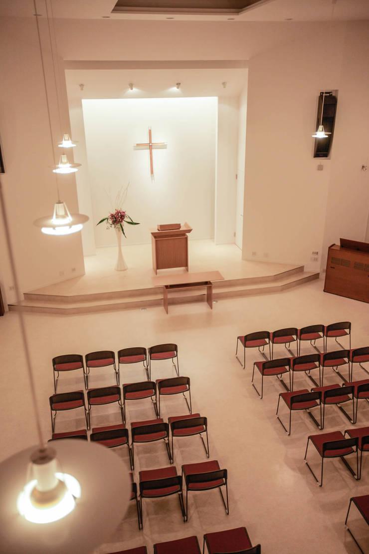 北栄キリスト教会: ホリゾン アーキテクツが手掛けたオフィススペース&店です。,