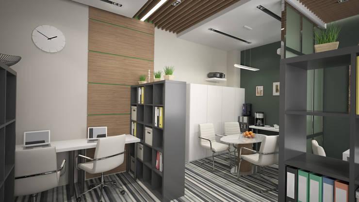 Офис г Москва: Рабочие кабинеты в . Автор – SmaginVladimir ,