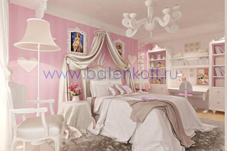 Дизайн проект комнаты для девочки: Детские комнаты в . Автор – Дизайн студия 'Дизайнер интерьера № 1'
