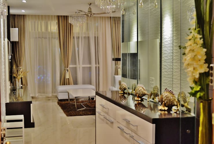 """"""" I Belong To U """":  Living room by Artis Interiorz Private Limited"""