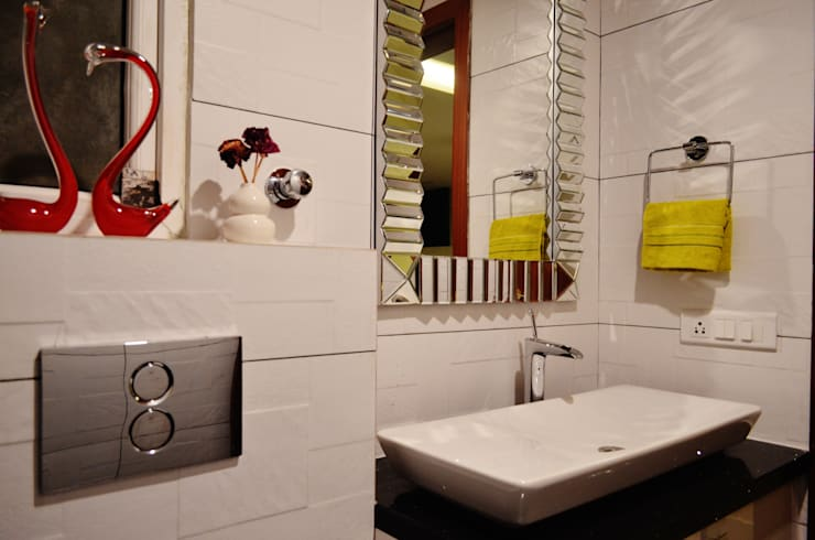 """<q class=""""-first""""> I Belong To U </q>:  Bathroom by Artis Interiorz Private Limited"""