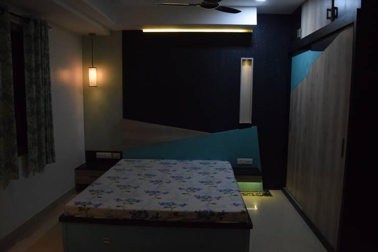 Residential project in katraj, Dhankawadi pune: modern  by VGA Designers,Modern Plywood