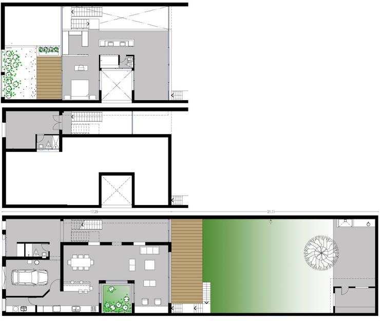 Дома в . Автор – Paula Mariasch - Juana Grichener - Iris Grosserohde Arquitectura