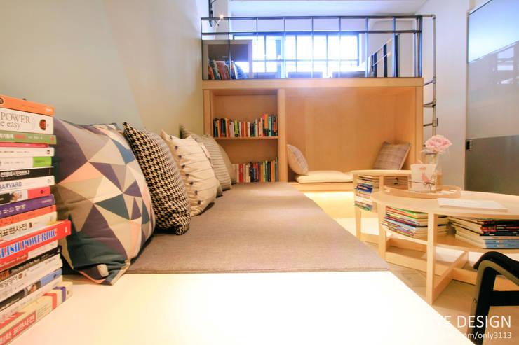 ห้องทำงาน/อ่านหนังสือ by 홍예디자인