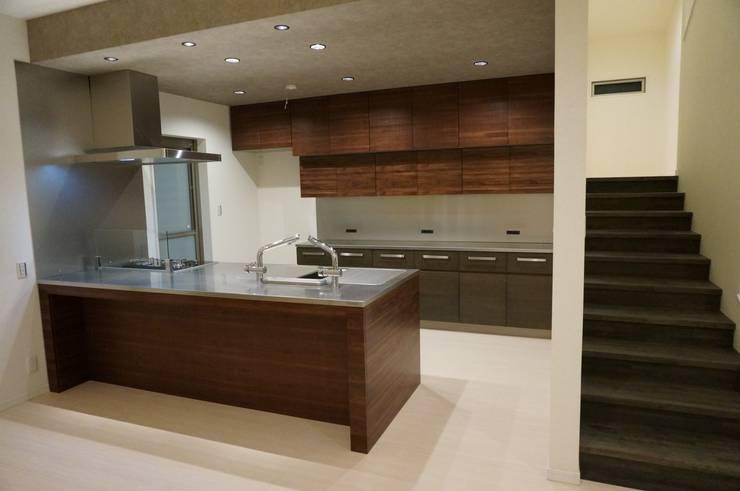 オリジナルキッチン: DIOMANO設計が手掛けたキッチンです。,