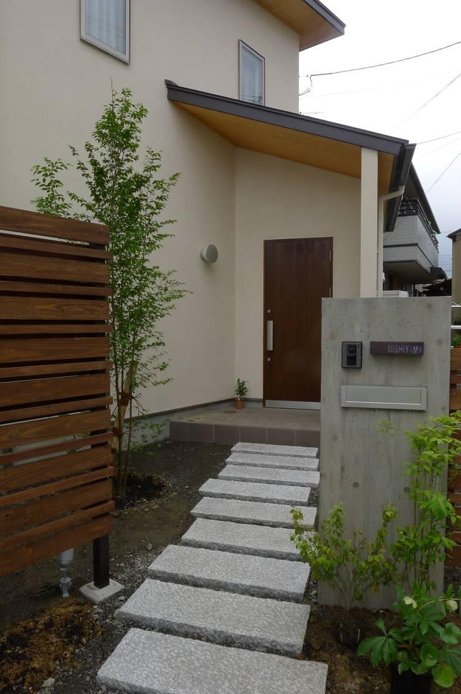 栗東の家: 株式会社 atelier waonが手掛けた家です。,