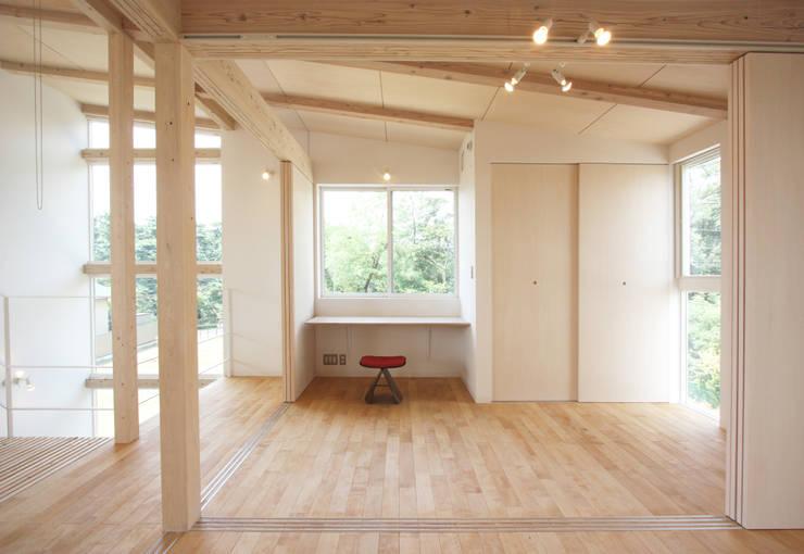 I-house: クコラボ一級建築士事務所が手掛けた子供部屋です。