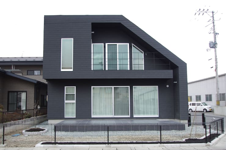 منازل تنفيذ クコラボ一級建築士事務所 , إنتقائي