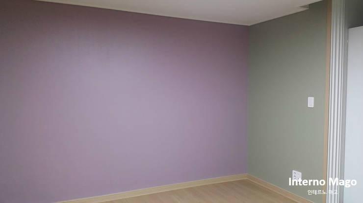 동탄2신도시 아파트: 인테르노 마고(Interno Mago)의  침실