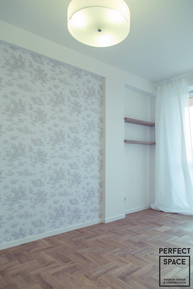 Nowe oldskulowe: styl , w kategorii Sypialnia zaprojektowany przez Perfect Space