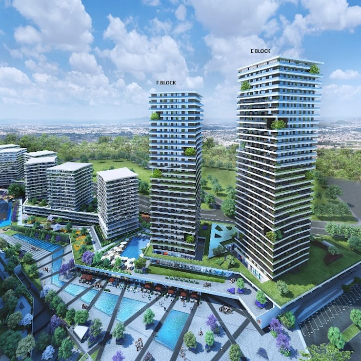 CCT INVESTMENTS – CCT 104 Project in Bahcesehir:  tarz Evler, Modern