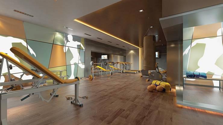 CCT INVESTMENTS – CCT 117 Project in Esenyurt:  tarz Fitness Odası