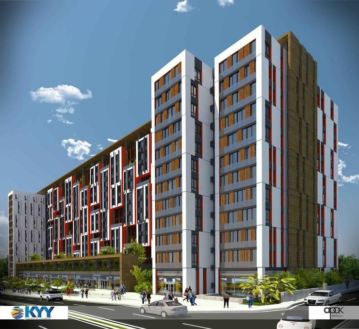 CCT INVESTMENTS – CCT 155 Project in Halic: modern tarz Evler