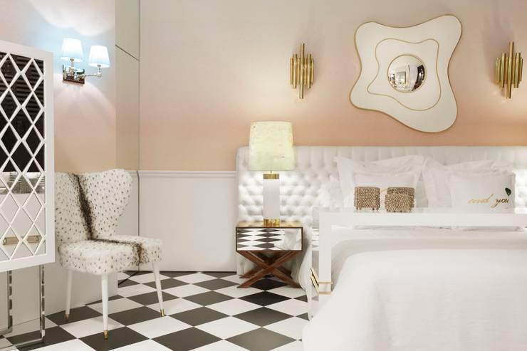 Paris . Interdesign: Quarto  por Interdesign Interiores