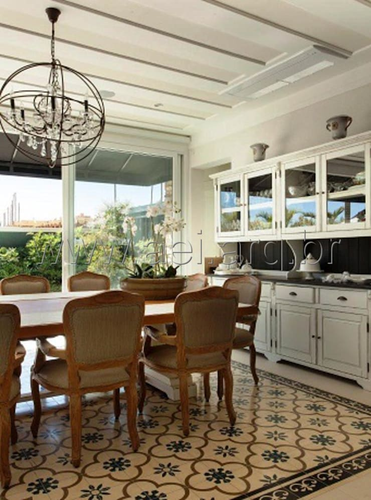 Sala de Jantar: Salas de jantar  por aei arquitetura e interiores,