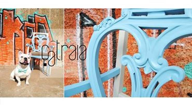 Um cadeirão especial: Sala de estar  por Catraia