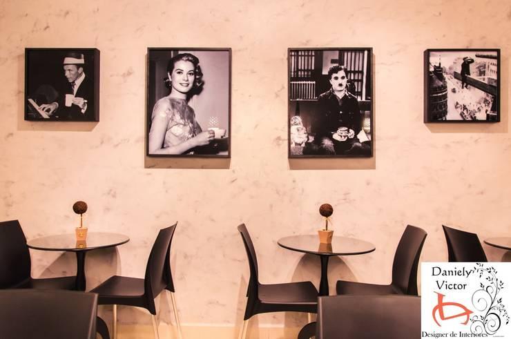 Detalhes.: Espaços gastronômicos  por Daniely Victor - Designer de Interiores