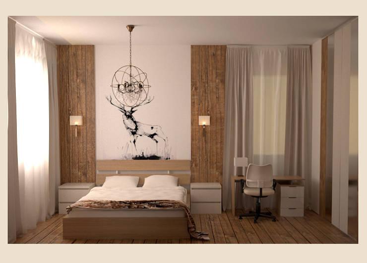 Спальня.: Спальни в . Автор – freeDOM