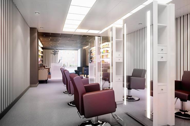 GlamVie. Salon: Коммерческие помещения в . Автор – KAPRANDESIGN