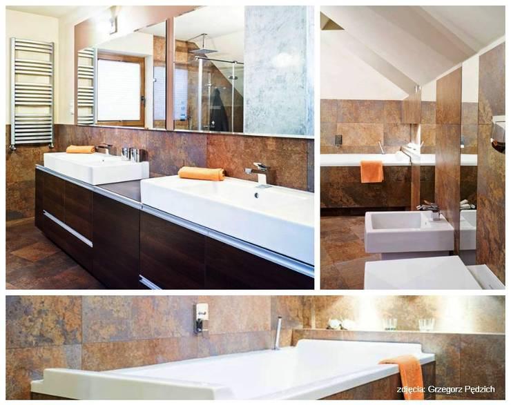 Projekt łazienki : styl , w kategorii Łazienka zaprojektowany przez More Than Design