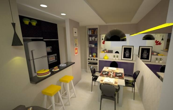 Favoritto - Ce: Salas de jantar modernas por Duecad - Arquitetura e Interiores
