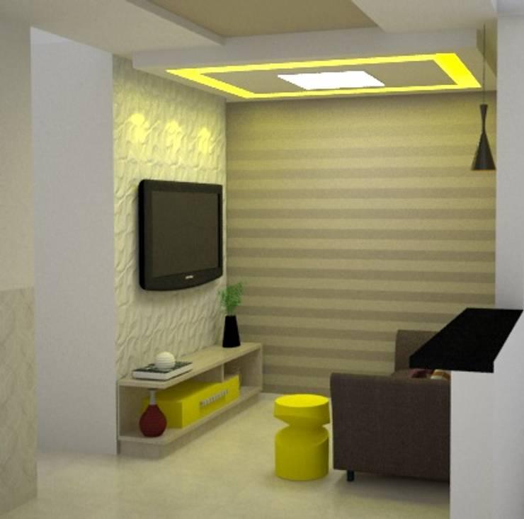 Favoritto – Ce: Salas de estar modernas por Duecad - Arquitetura e Interiores