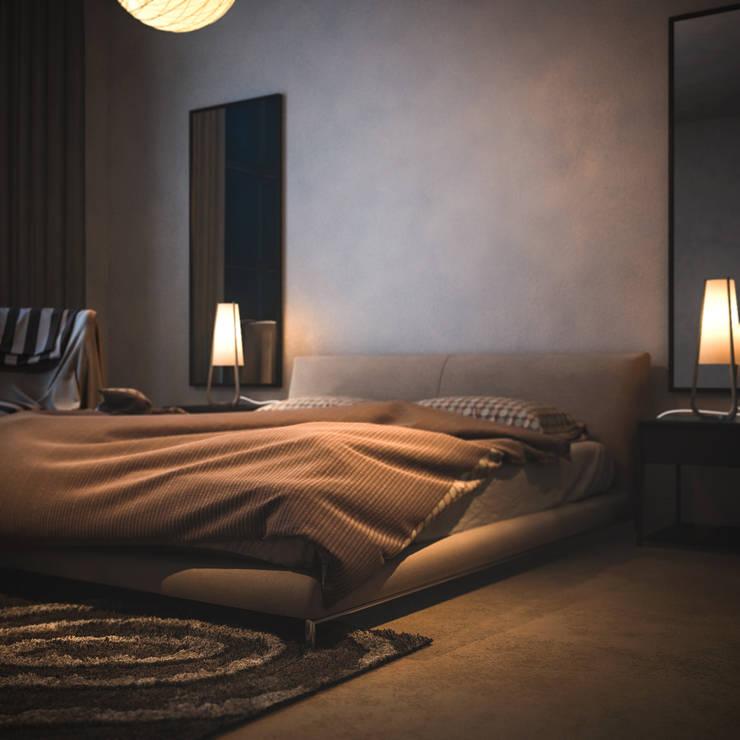 Ali İhsan Değirmenci Creative Workshop – Yatak Odası:  tarz