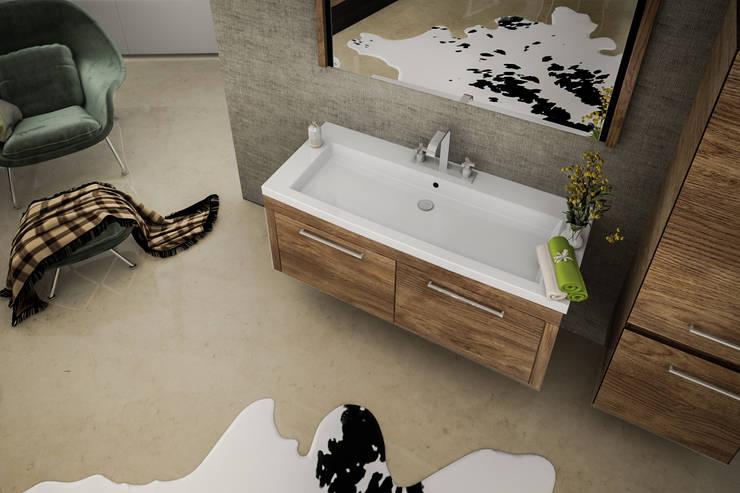 Ali İhsan Değirmenci Creative Workshop – Banyo Tasarım:  tarz