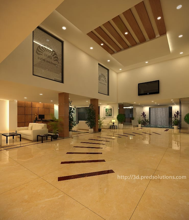 3D Architectural Renderings from Pred Solutions:  Commercial Spaces by Pred Solutions