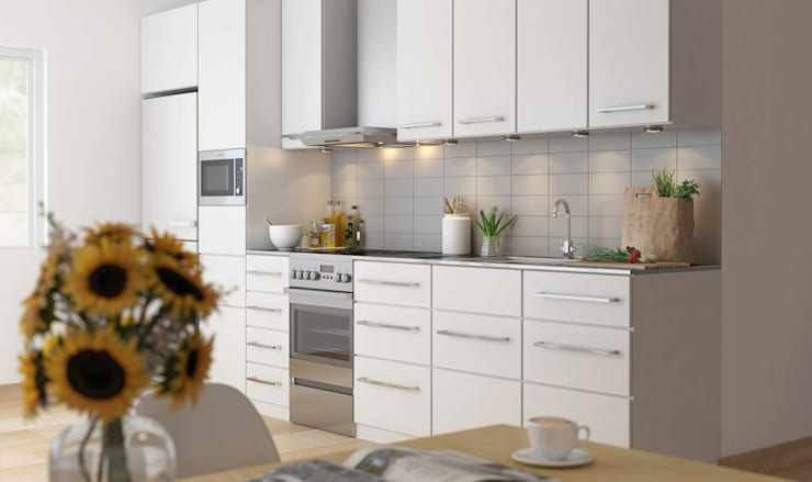 3D Visualization of Kitchen from Pred Solutions:  Kitchen by Pred Solutions