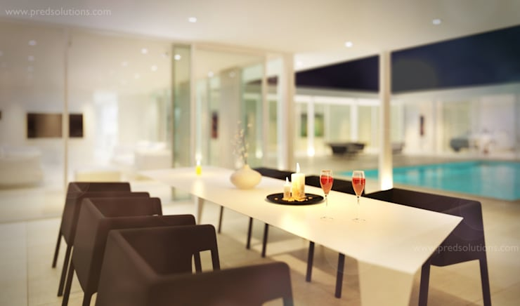 3D Visualization from Pred Solutions:  Terrace by Pred Solutions