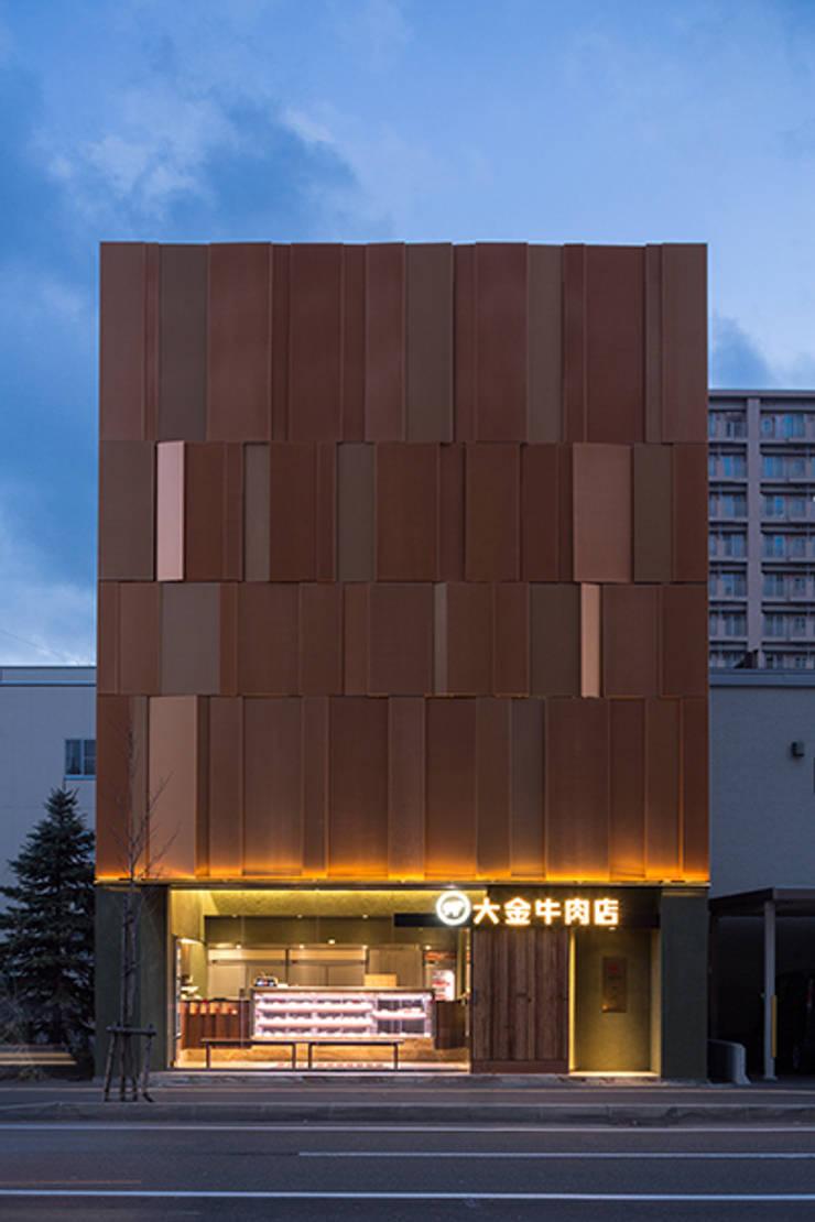 大金牛肉店: 株式会社アトリエテンマが手掛けたオフィス&店です。