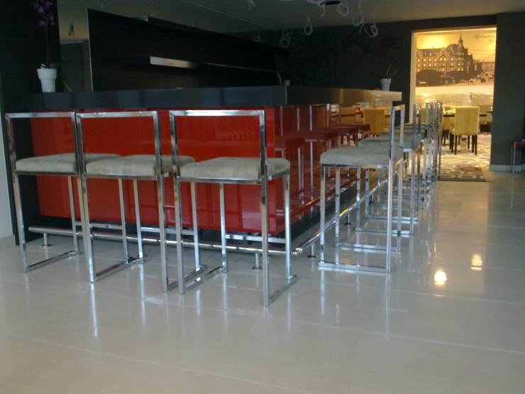 Otelyx Dizayn Ltd.Sti. – Hotel Reiss:  tarz Bar & kulüpler, Modern Ahşap Ahşap rengi