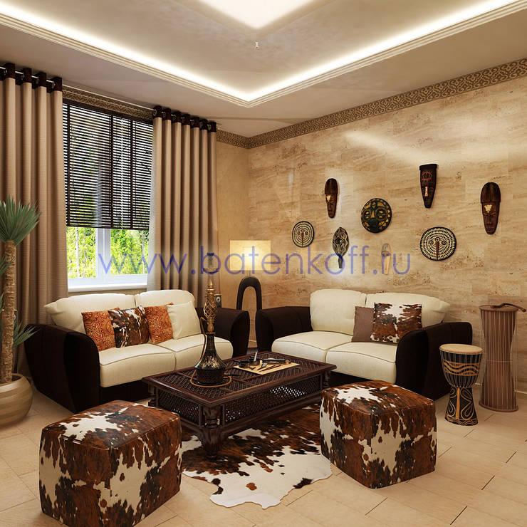 Дизайн проект каминной в частном особняке: Рабочие кабинеты в . Автор – Дизайн студия 'Дизайнер интерьера № 1'