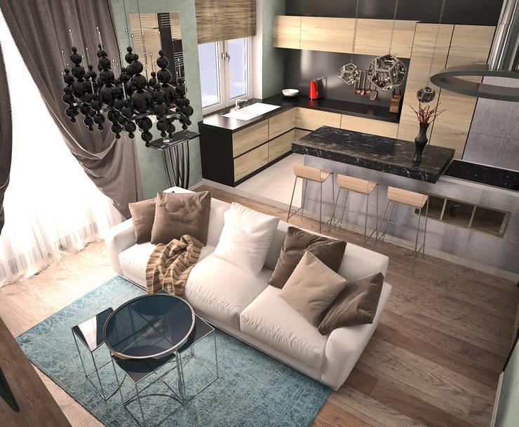 Жилое пространство : Гостиная в . Автор – BMM
