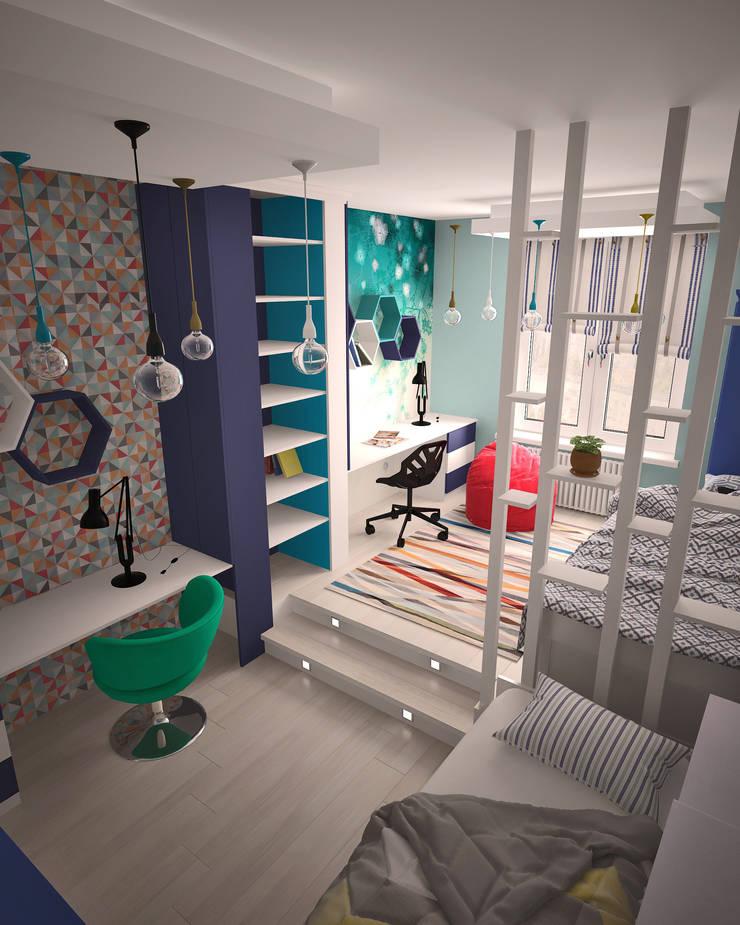 Жилое пространство : Детские комнаты в . Автор – BMM