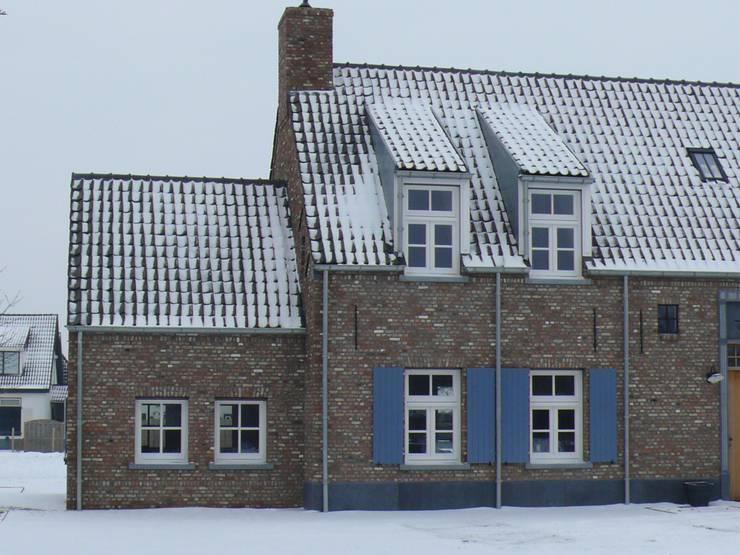 woonhuis Hasselbach te Gendt:  Huizen door Han Hameeteman architectuur b.v.