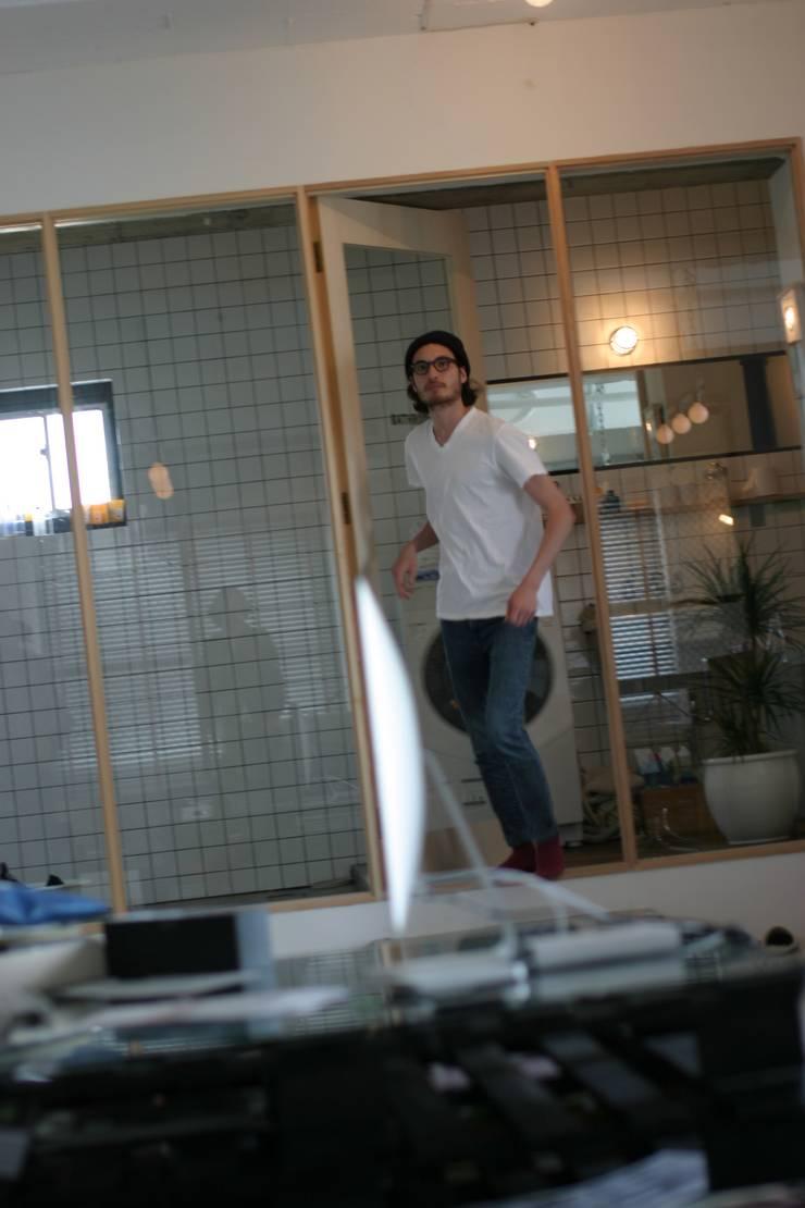90平米のワンルーム: HOUSETRAD CO.,LTDが手掛けた浴室です。