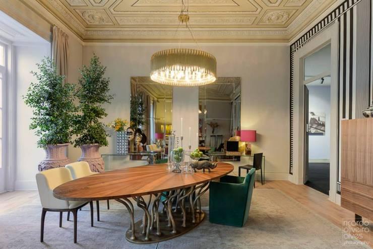 Casa Lisboa: Salas de jantar  por ACTUAL SOLUCÕES