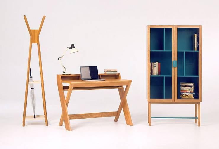 Meble biurowe Ravenscroft: styl , w kategorii Domowe biuro i gabinet zaprojektowany przez onemarket.pl,
