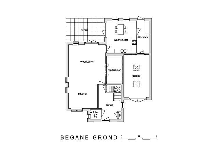 Plattegrond nieuwbouw villa Velddriel:  Huizen door Villa Delphia