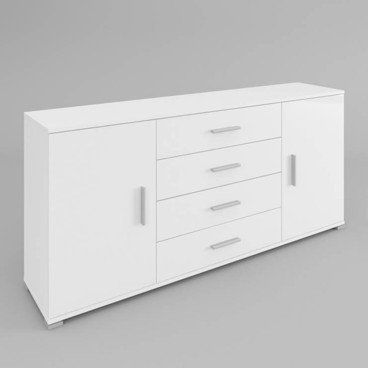 Komoda Karo 110: styl , w kategorii Salon zaprojektowany przez onemarket.pl