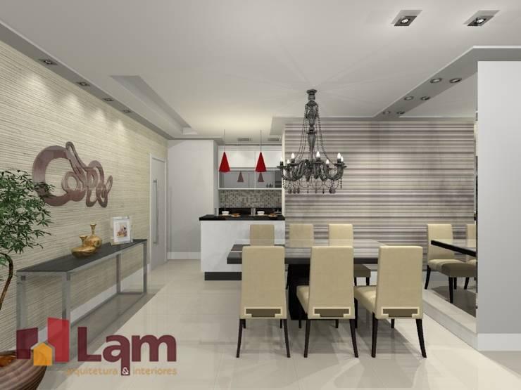 Sala de Jantar - Projeto por LAM Arquitetura | Interiores