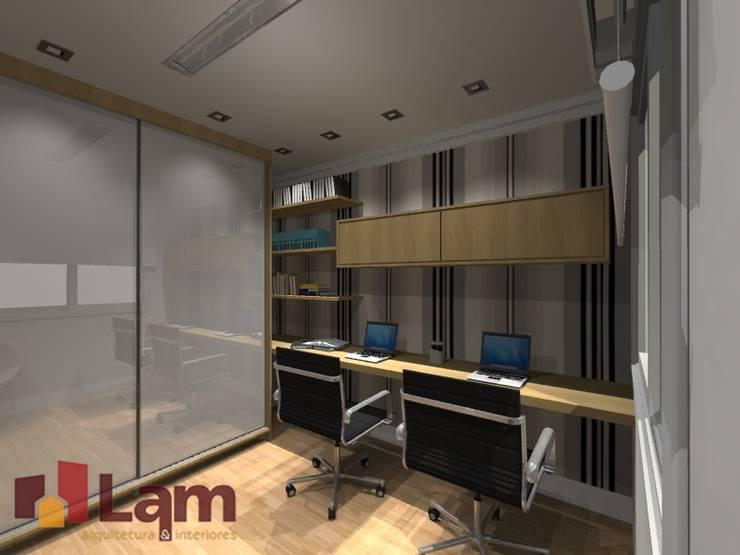 Escritório - Projeto por LAM Arquitetura | Interiores