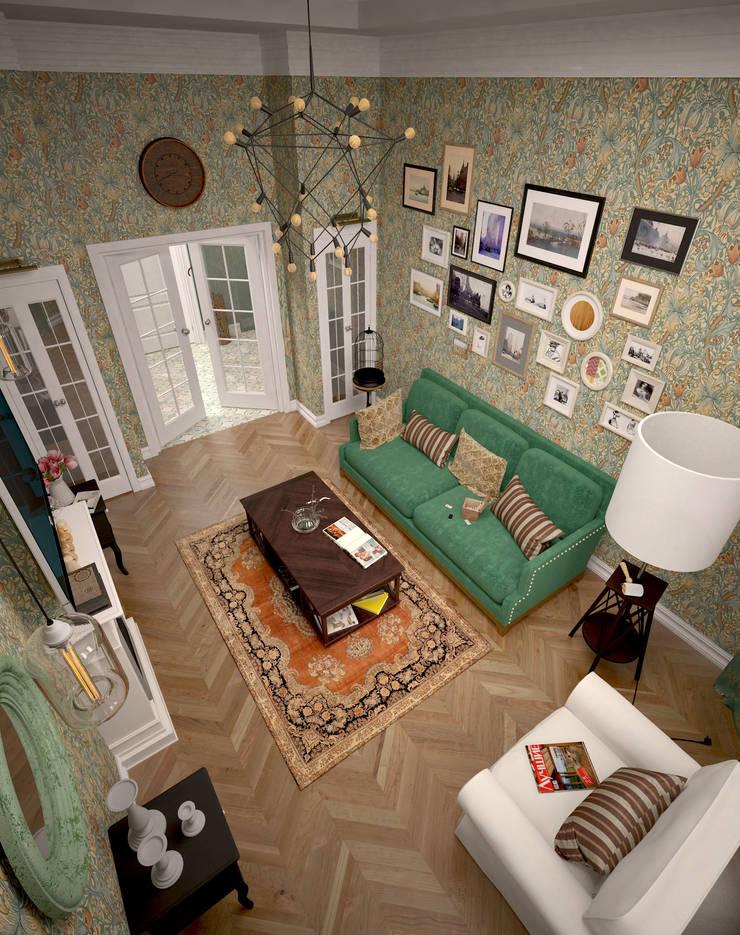 Жилое пространство : Гостиная в . Автор – BMM,
