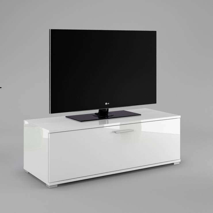 Szafka RTV Stefi: styl , w kategorii Salon zaprojektowany przez onemarket.pl