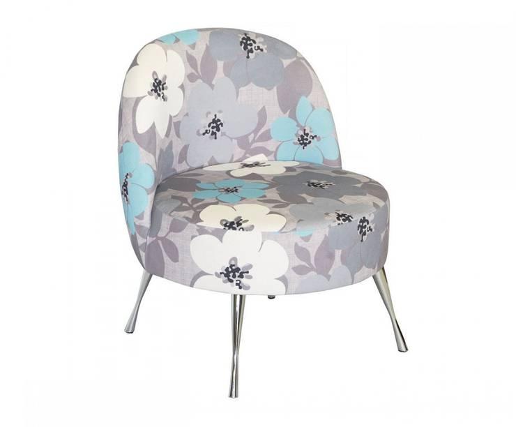 Pastelowy Fotel Flower: styl , w kategorii Salon zaprojektowany przez onemarket.pl