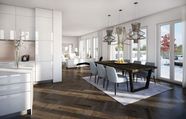 Living room by winhard 3D, Classic