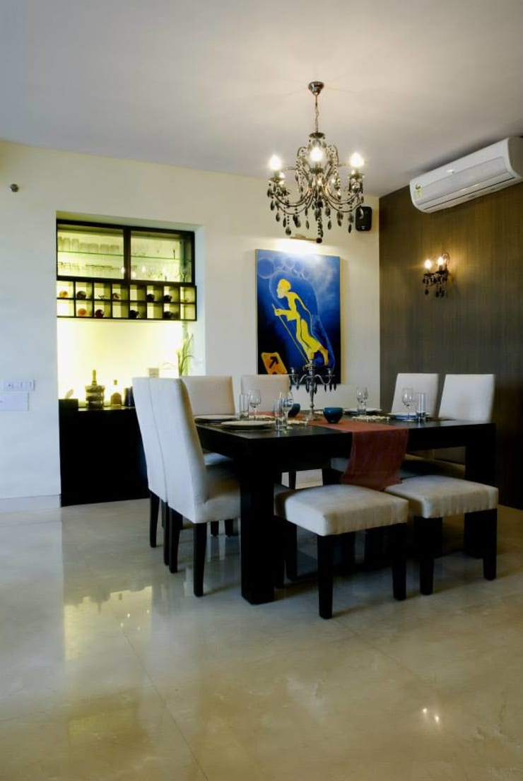 Apartment:  Dining room by In-situ Design